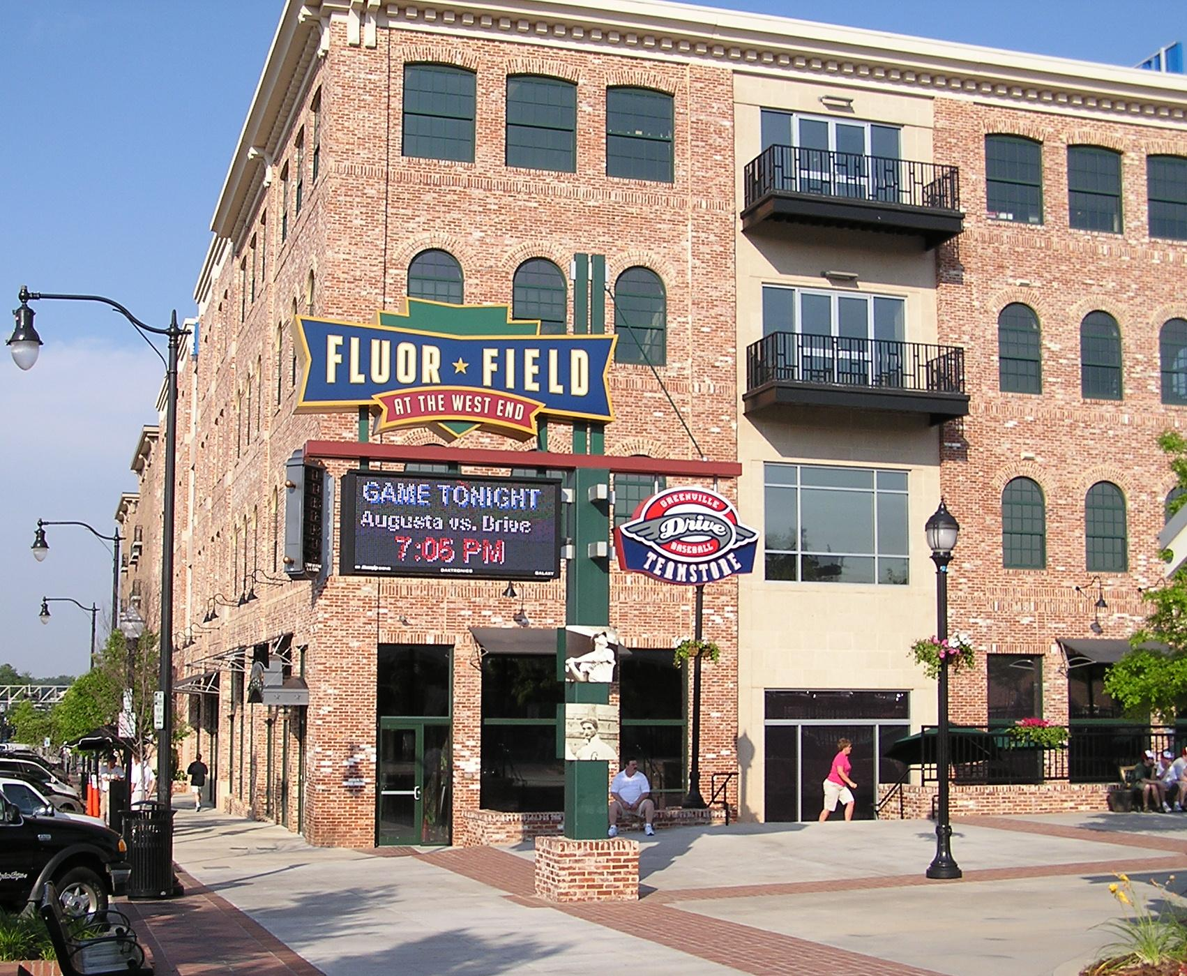 Fluor Field at the West End in Greenville, SC