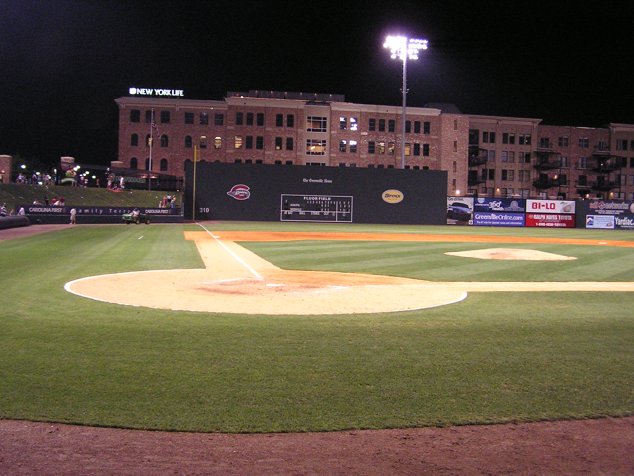 Game Over at Fluor Field at the West End
